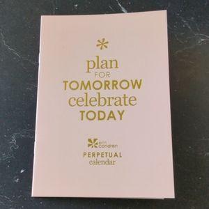 Erin Condren | Blush Pink Perpetual Calendar